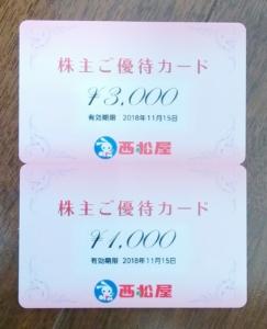 西松屋チェーン(7545)