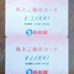 西松屋チェーン(7545)の株主優待が到着しました!