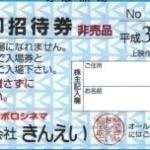 1月、7月株主優待:きんえい(9636)