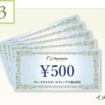 11月株主優待:ファーマライズホールディングス(2796)