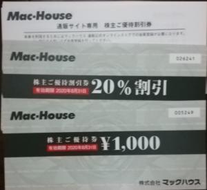 マックハウス(7603)