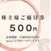 3月株主優待:大戸屋ホールディングス(2705)