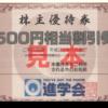 3月株主優待:進学会ホールディングス(9760)