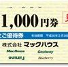 2月、8月株主優待:マックハウス(7603)